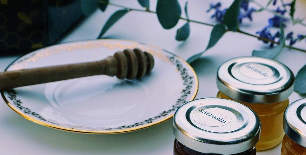 Coffret cadeau 24 douceurs de miel
