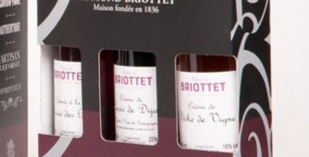 Coffret 3 bouteilles Liqueur Eté
