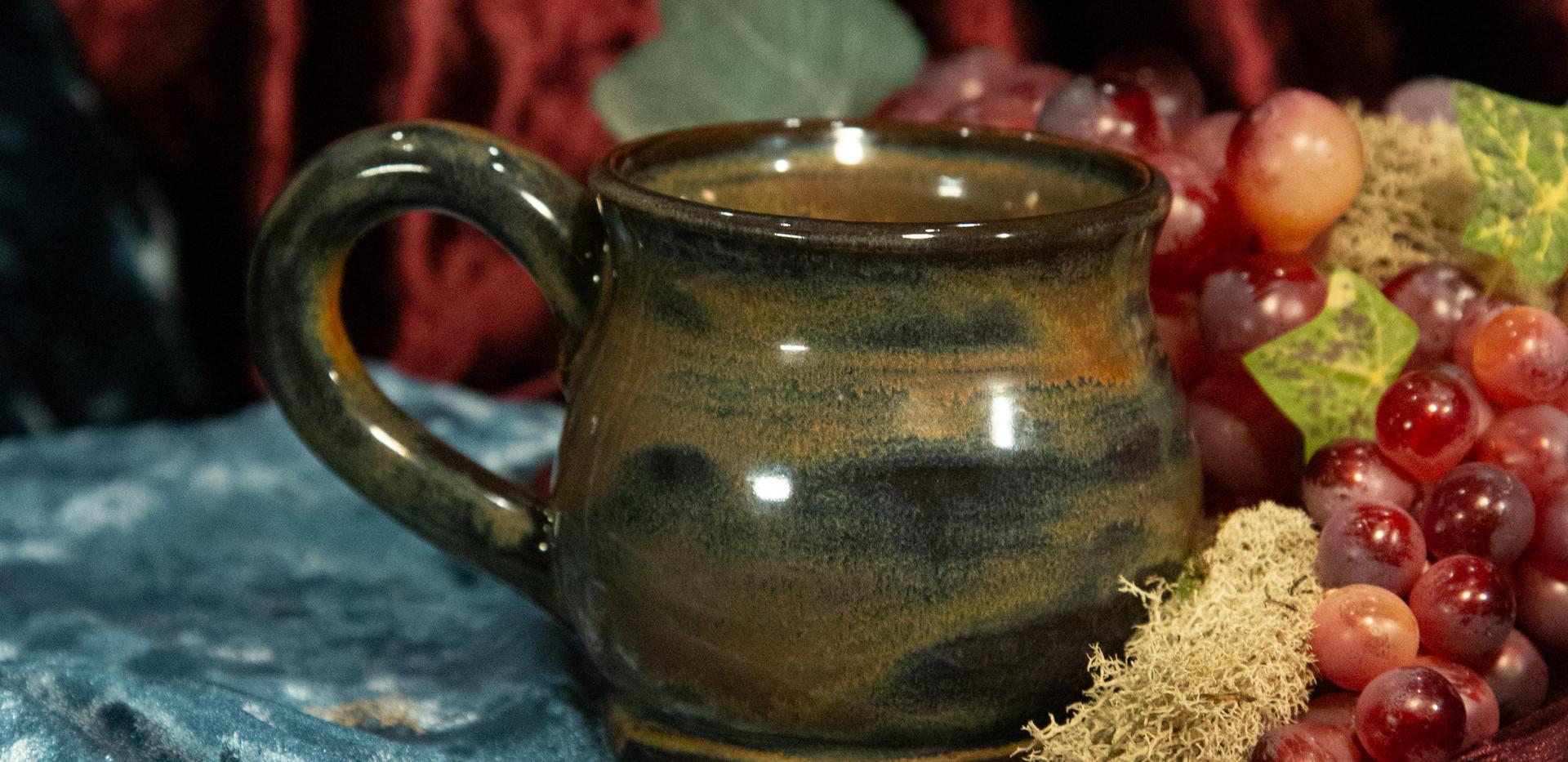 Glaze Mixing Experimental Mug