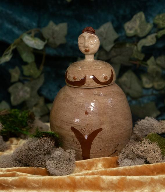 Nakey Lady Jar #4