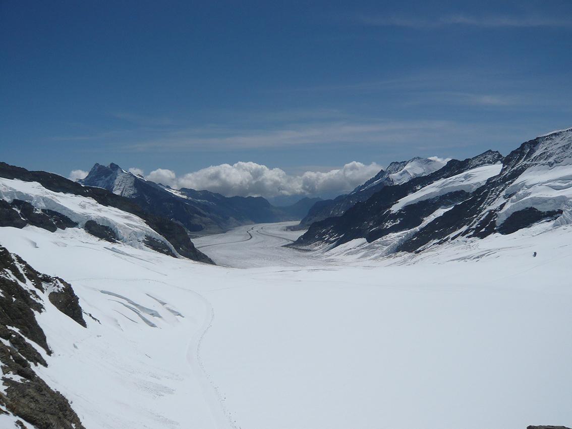 Aletsch Glacier (Jungfrau)