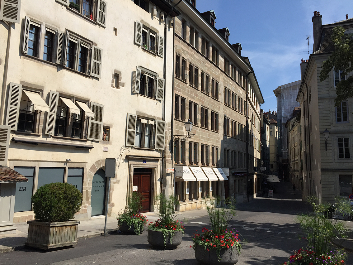 The old town (Geneva)
