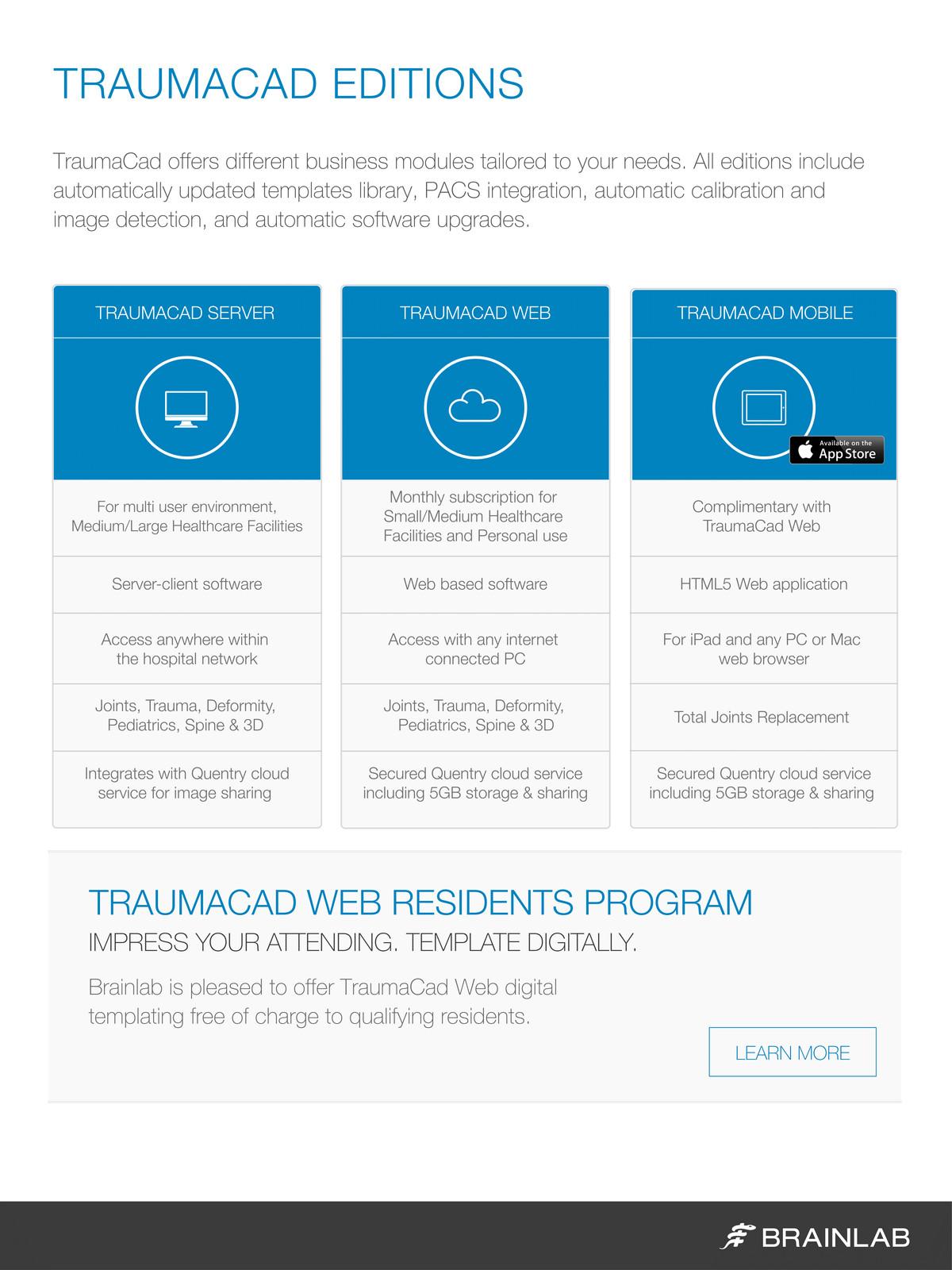 TraumaCad Brochure