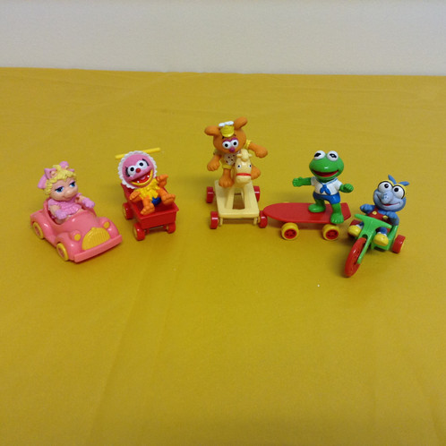 Muppet Toy Figures