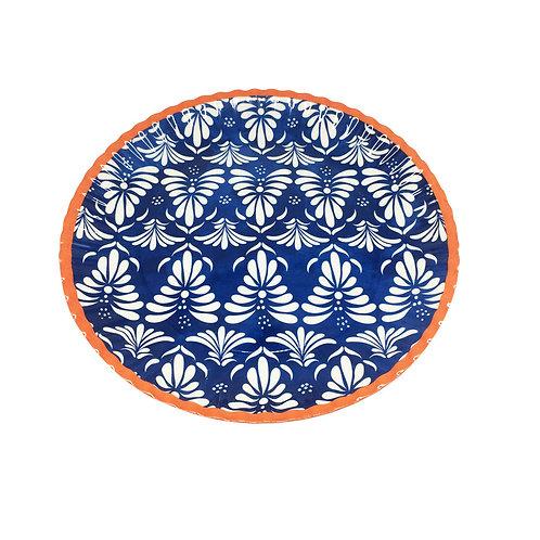 Klapp  Plato Ovalado Triunph 45 cm Azul