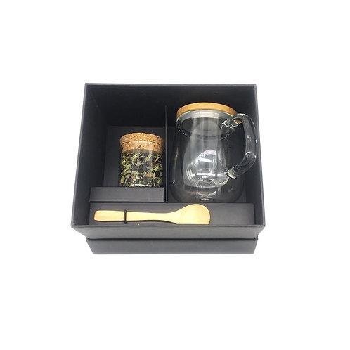 Mug Bamboo  + Cuchara + Té
