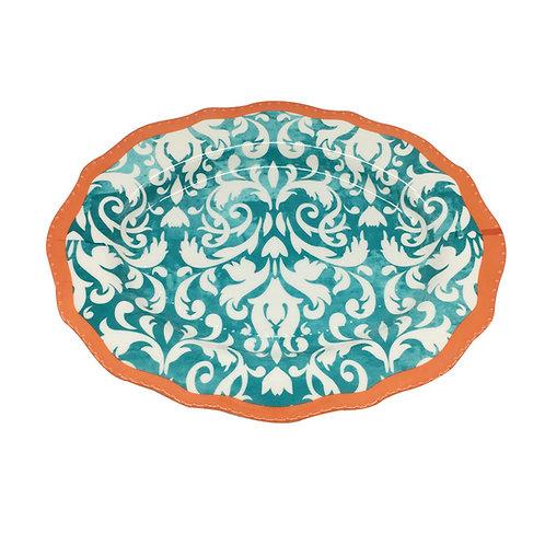 Klapp Plato Ovalado Triunph Turquesa 40 cm