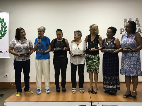 Dalvirene Alves de Paiva, Eleonora Mendonça, Hilza Freitas da Costa, Lenira Regufe, Vanessa Figueiredo, Maria Zenaide Cruz e Monica Tobias