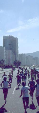 Imagem da I Corrida de Copacabana