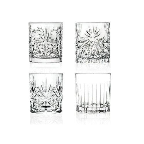 Set 4 Vasos Whisky Mixology