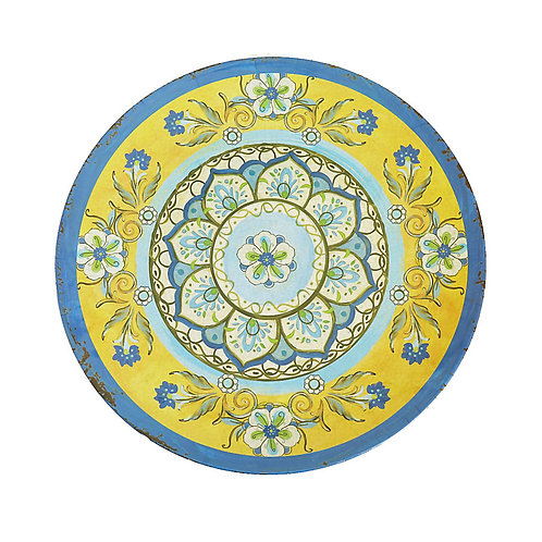 Fortune Plato Extendido 45 cm - Amarillo