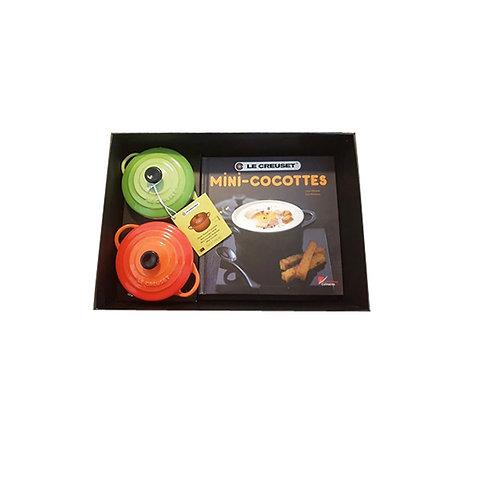 Set 2 Mini Cocotes  + Libro de cocina