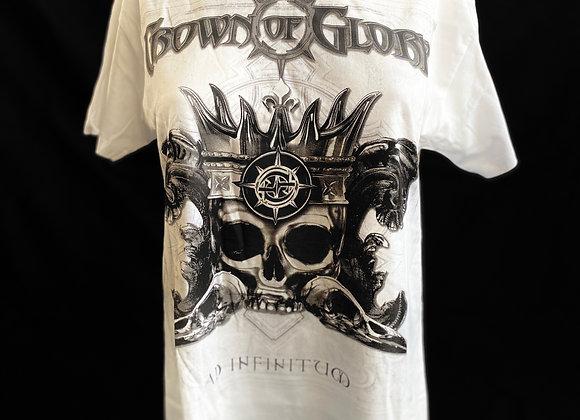 Herren & Damen Shirt Ad Infinitum White