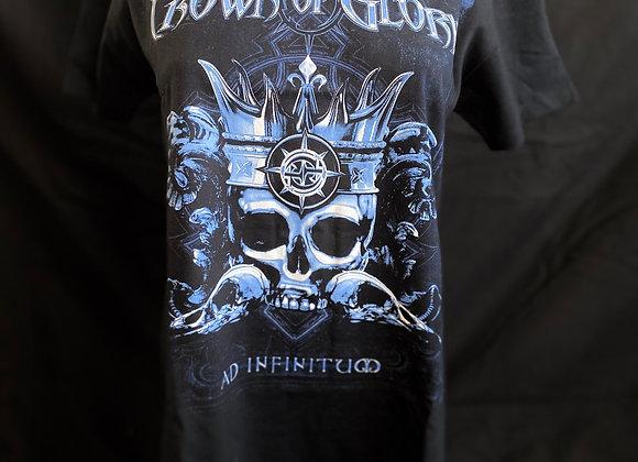 Herren & Damen Shirt Ad Infinitum Black