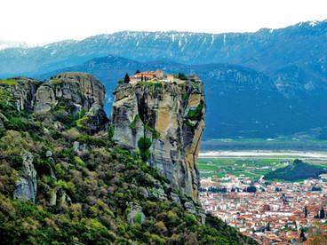 クロアチア・スロベニア絵になる風景と、ギリシャの絶景聖地へ4 ~聖地メテオラ~