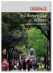 The Everyday Writer by Andrea Lunsford (textbook cover)
