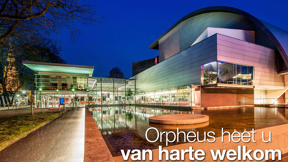 Schouwburg en Congrescentrum Orpheus