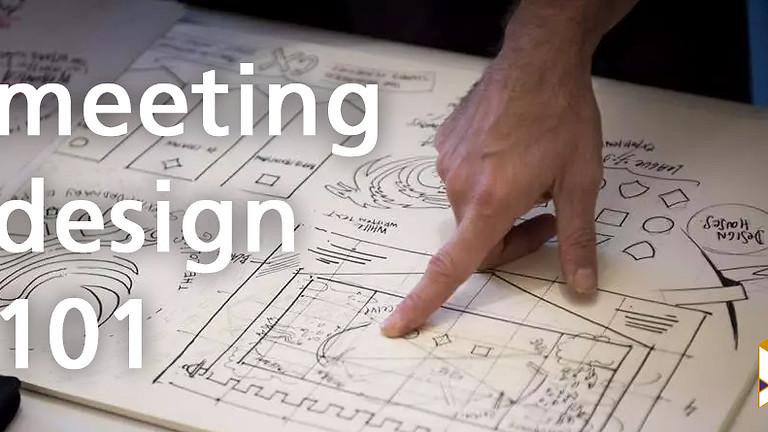 Meeting Design 101
