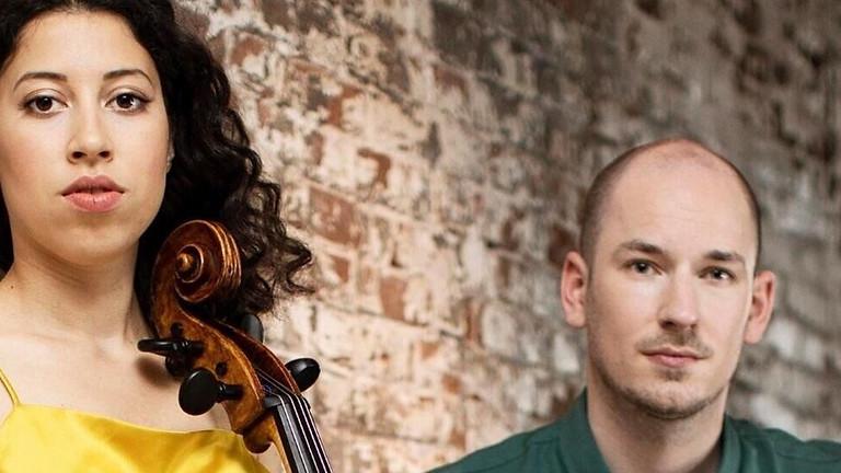 Ella van Poucke (cello) en Caspar Vos (piano)