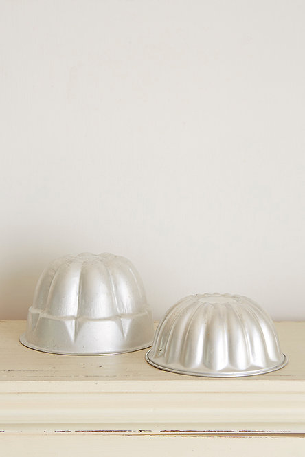 OK5243 - Two Large Metal Moulds