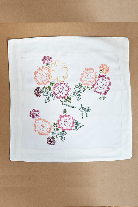 OK5147 - Vintage Embroidery Cushion Cover