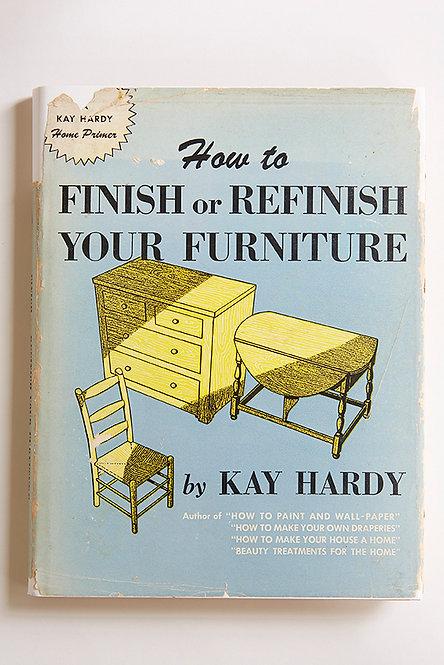 OK5262 - Finish or Refinish your Furniture