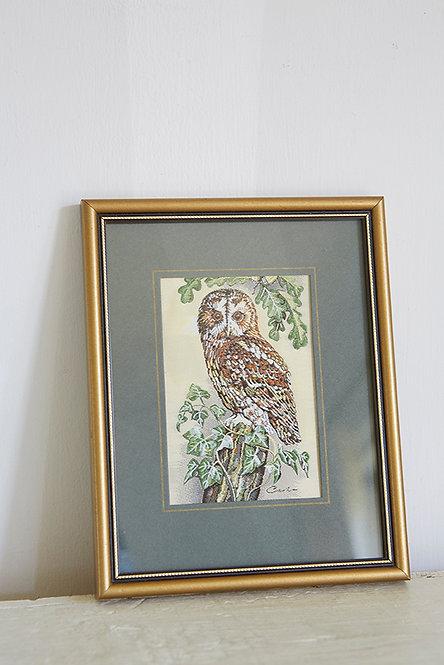 OK5294 - Tawny Owl Embroidery