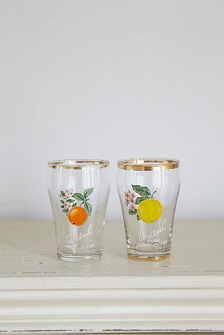 OK5159 - Two Britvic Glasses