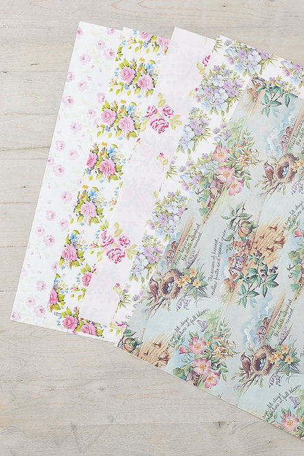 OK5180 - Vintage Wrapping Paper