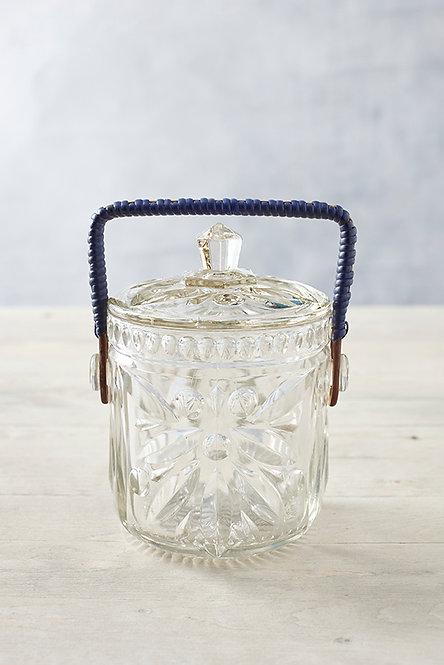 OK5133 - Glass Biscuit Barrel