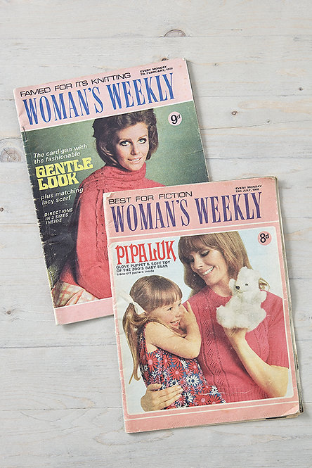 OK5149 - Two Woman's Weekly Magazines
