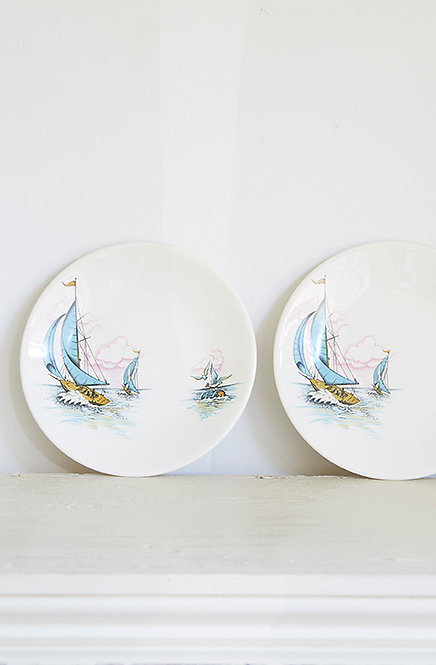 OK5300 - Two Blue Caribbean Plates