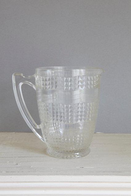 OK3645 - Glittering Glass Jug