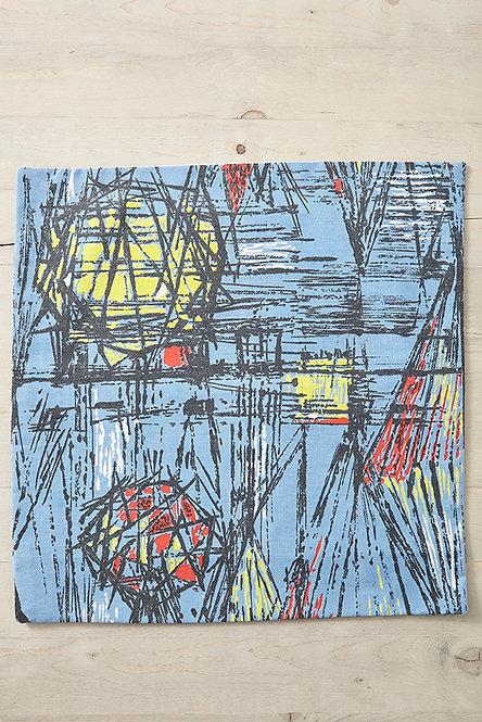 OK4931 - Kaleidoscope Vintage Fabric Cushion Cover