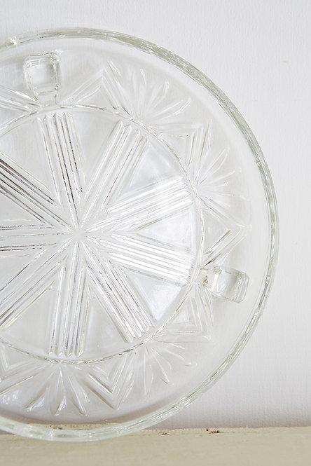 OK5298 - Glass Cake Stand
