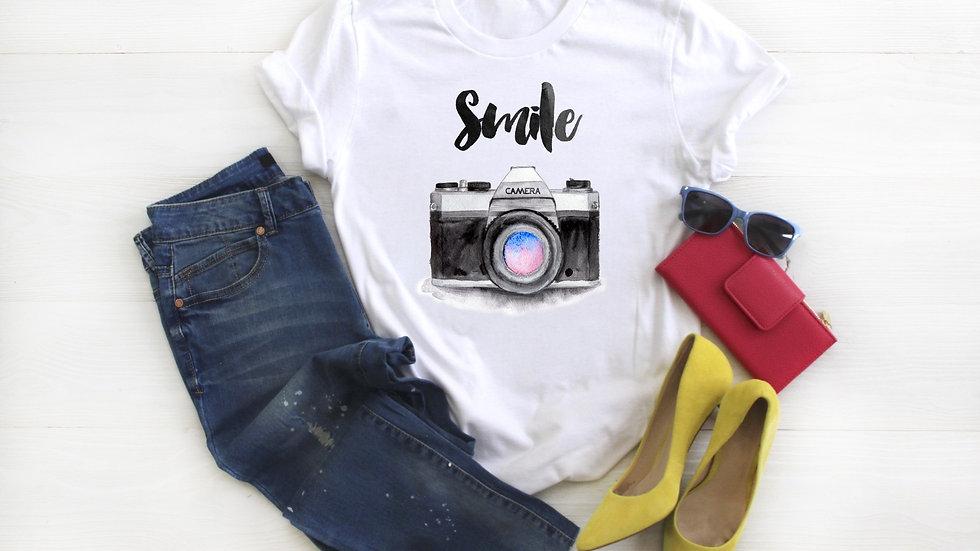 Smile Camera Tee