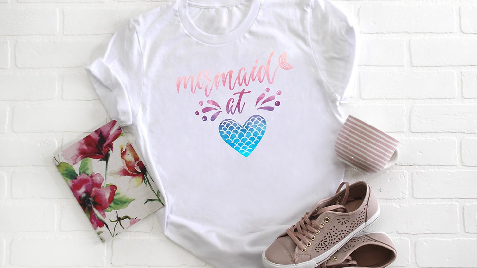 Mermaid at Heart Tee
