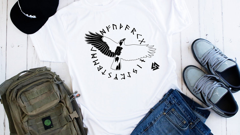 Scandinavian Flying Raven Tee