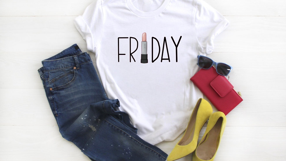 Friday Lipstick Tee