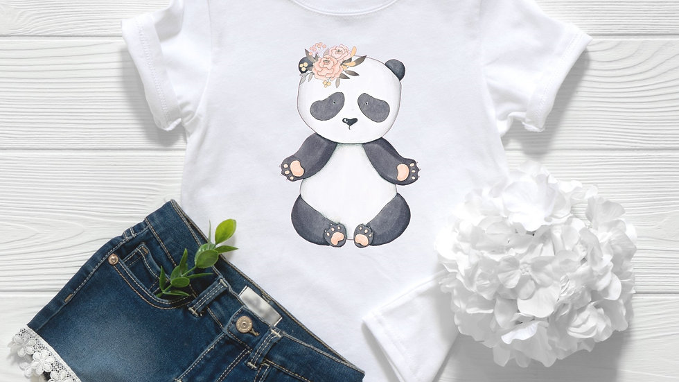 Baby Panda Toddler and Youth Tee