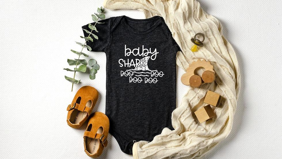Baby Shark Baby Bodysuit