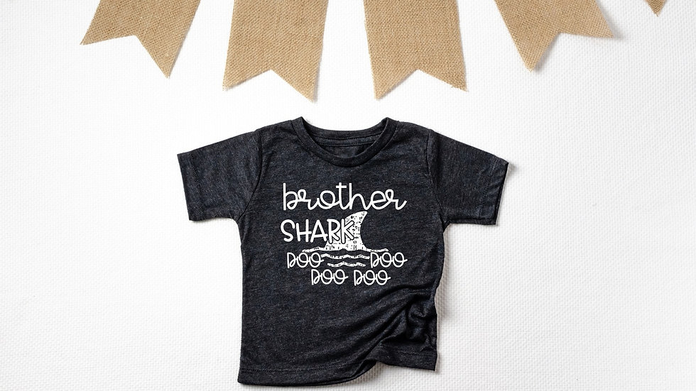 Brother Shark Toddler and Youth Tee