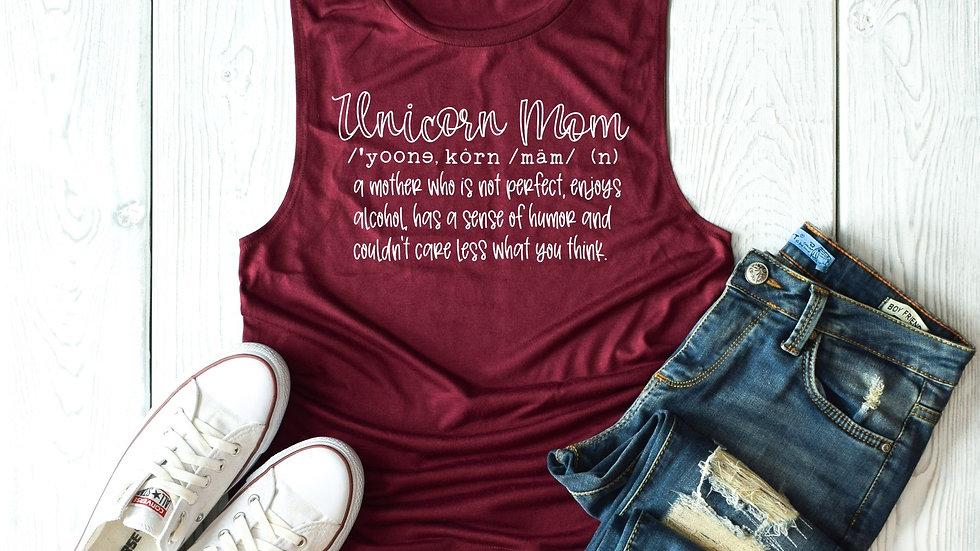 Unicorn Mom Tank