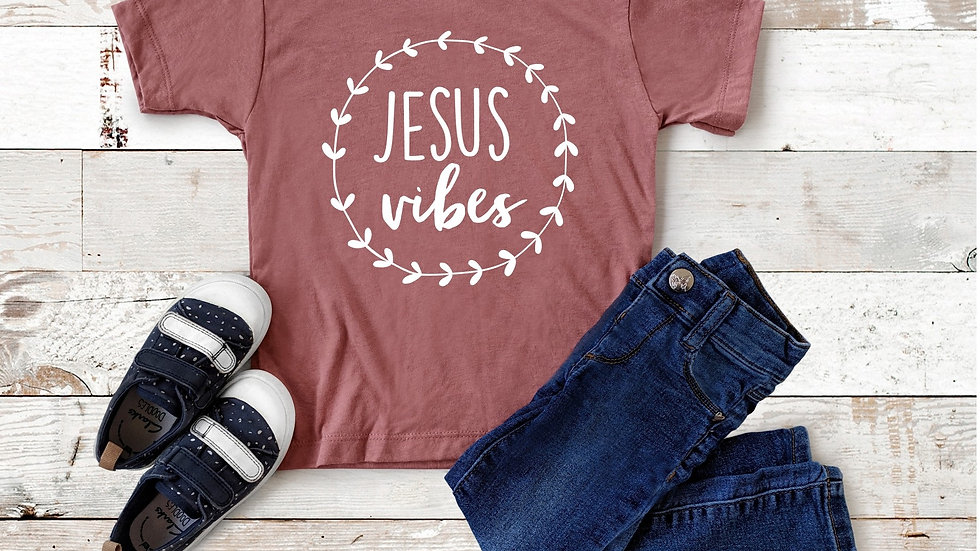 Jesus Vibes Toddler and Youth Tee