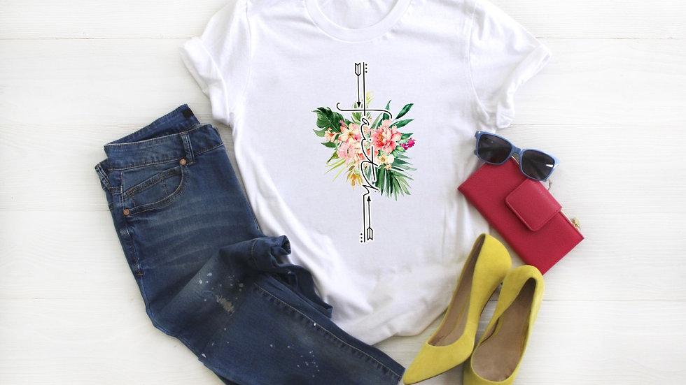 Floral Faith Cross Tee