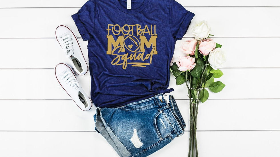 Football Mom Squad Tee