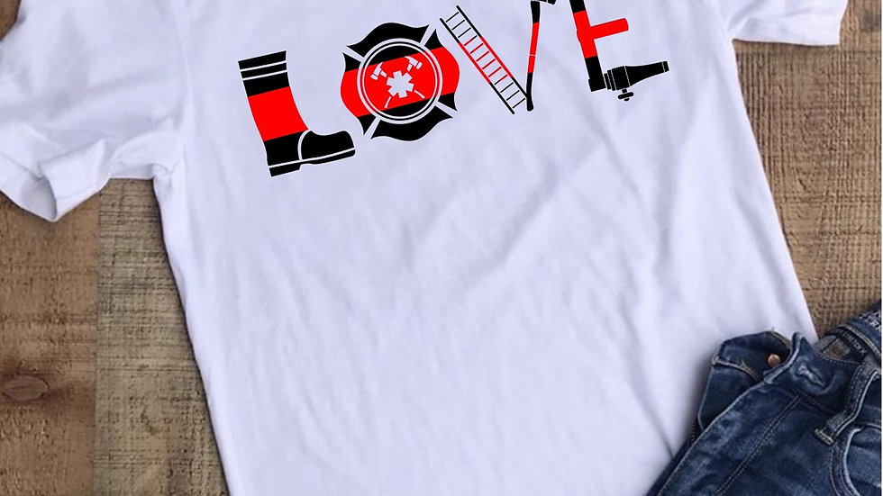 Thin Red Line Love Tee