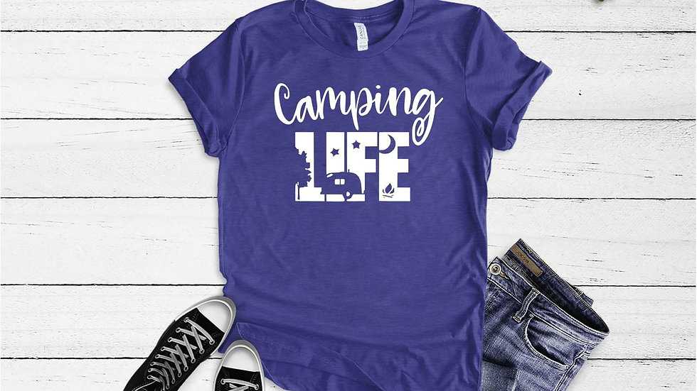 Camping Life Tee