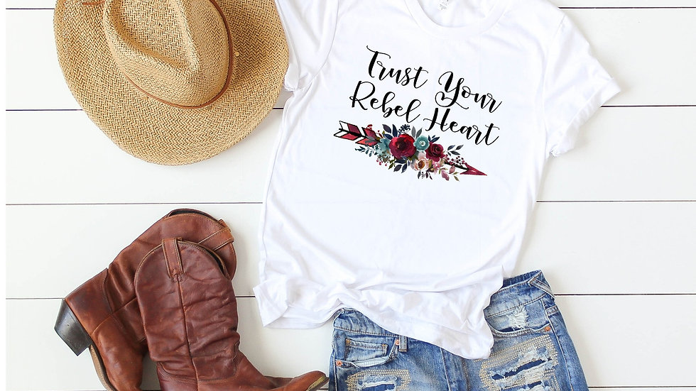Trust Your Rebel Heart Tee