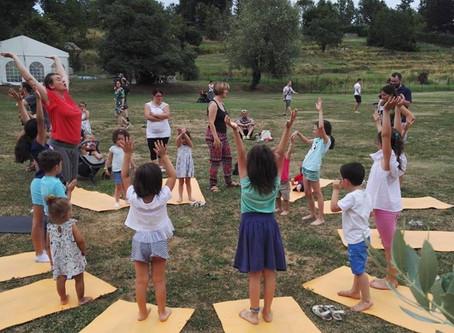 Family Yoga - festa dell'equinozio di primavera